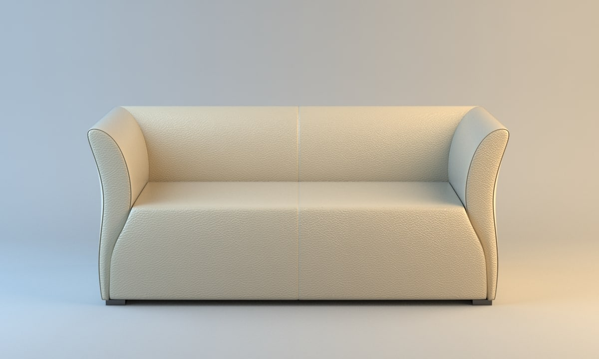 3ds max fendi ettore sofa
