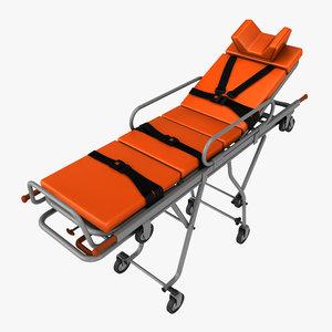 realistic stretcher 3d max