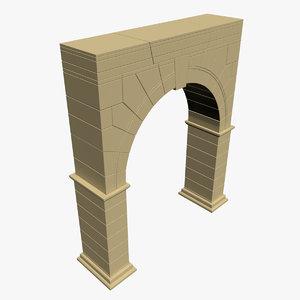 3d arch opensubdiv model