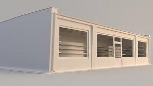 3D model building store