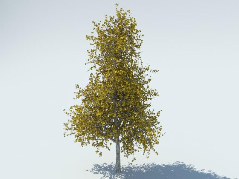 realistic aspen tree max