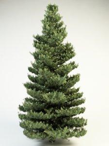 white fir 10 3d 3ds