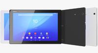 Sony Xperia Z4 Tablet Black & White