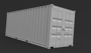 transoprt case 3D model