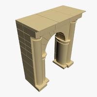 3d model arch opensubdiv