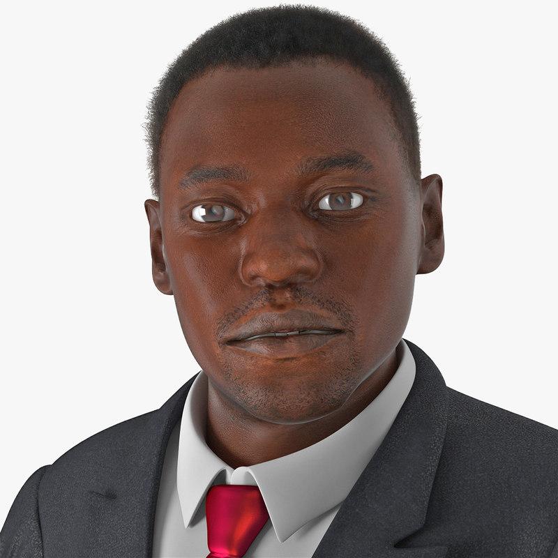 businessman african american hair max