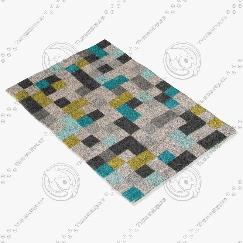 3d jaipur rugs fn24 model