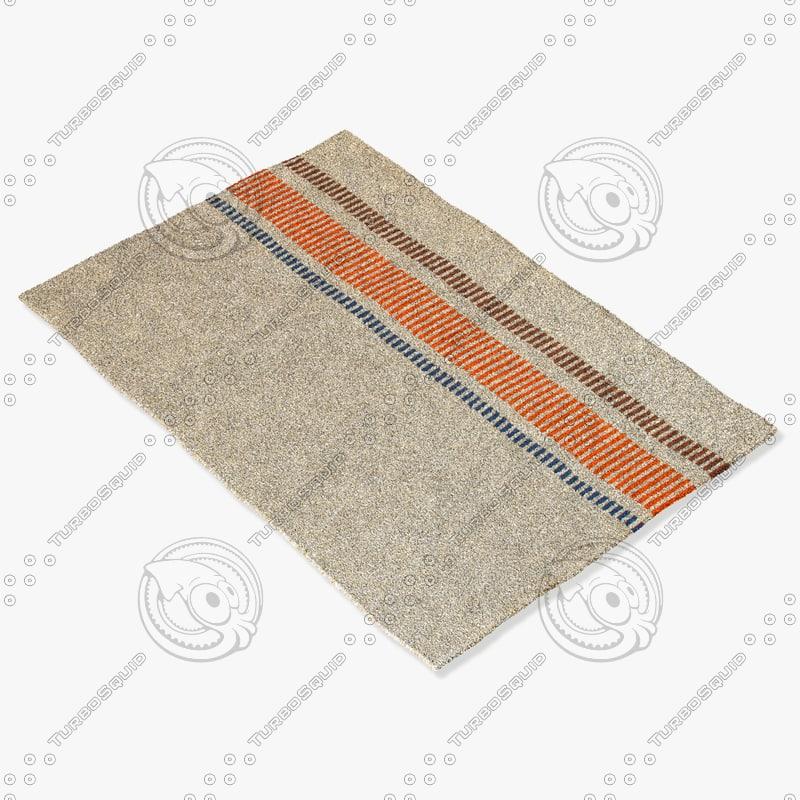 jaipur rugs gd18 3d model