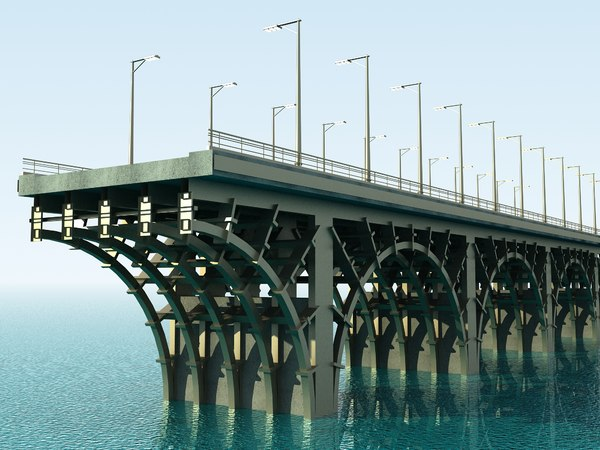 3d bridge modules model