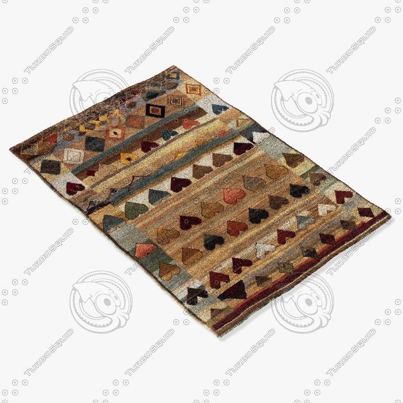 3d model jaipur rugs k47