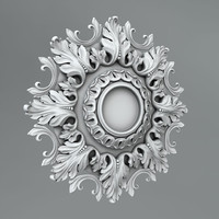 3d c4d classical decoration ornamental