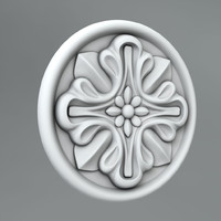 Carved rosettes 51