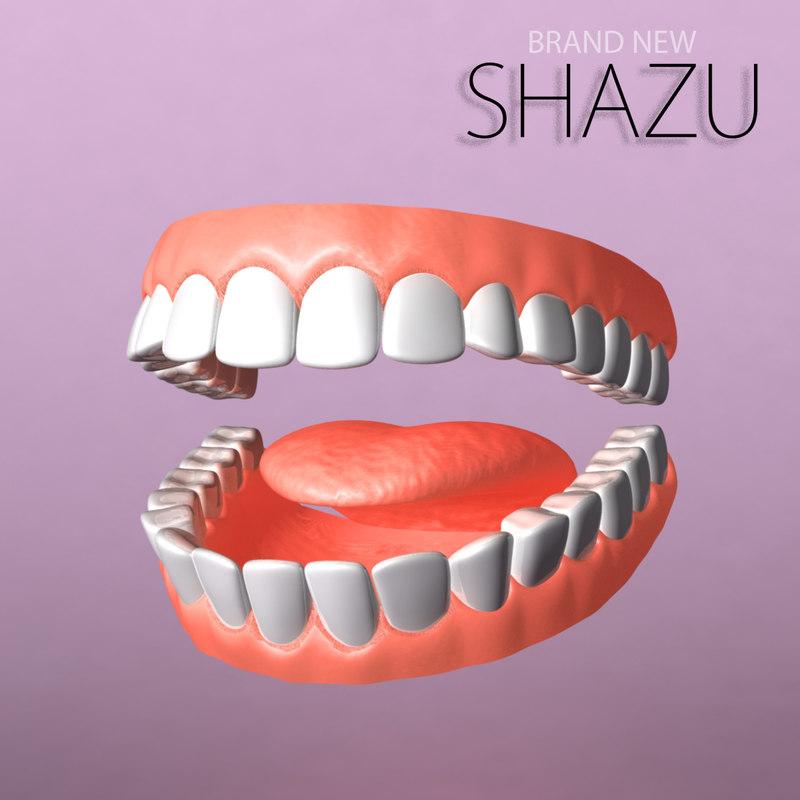 3ds max set teeth
