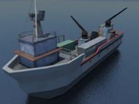 fbx war ship