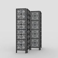 3d model room divider divider-4