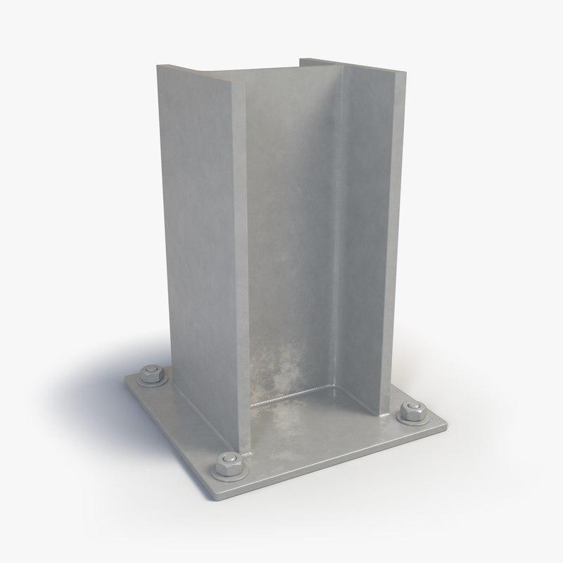 3ds max standart beams heb 200