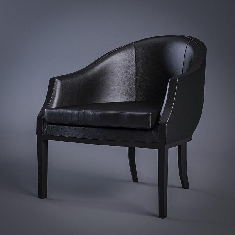 living divani abc armchair 3d model
