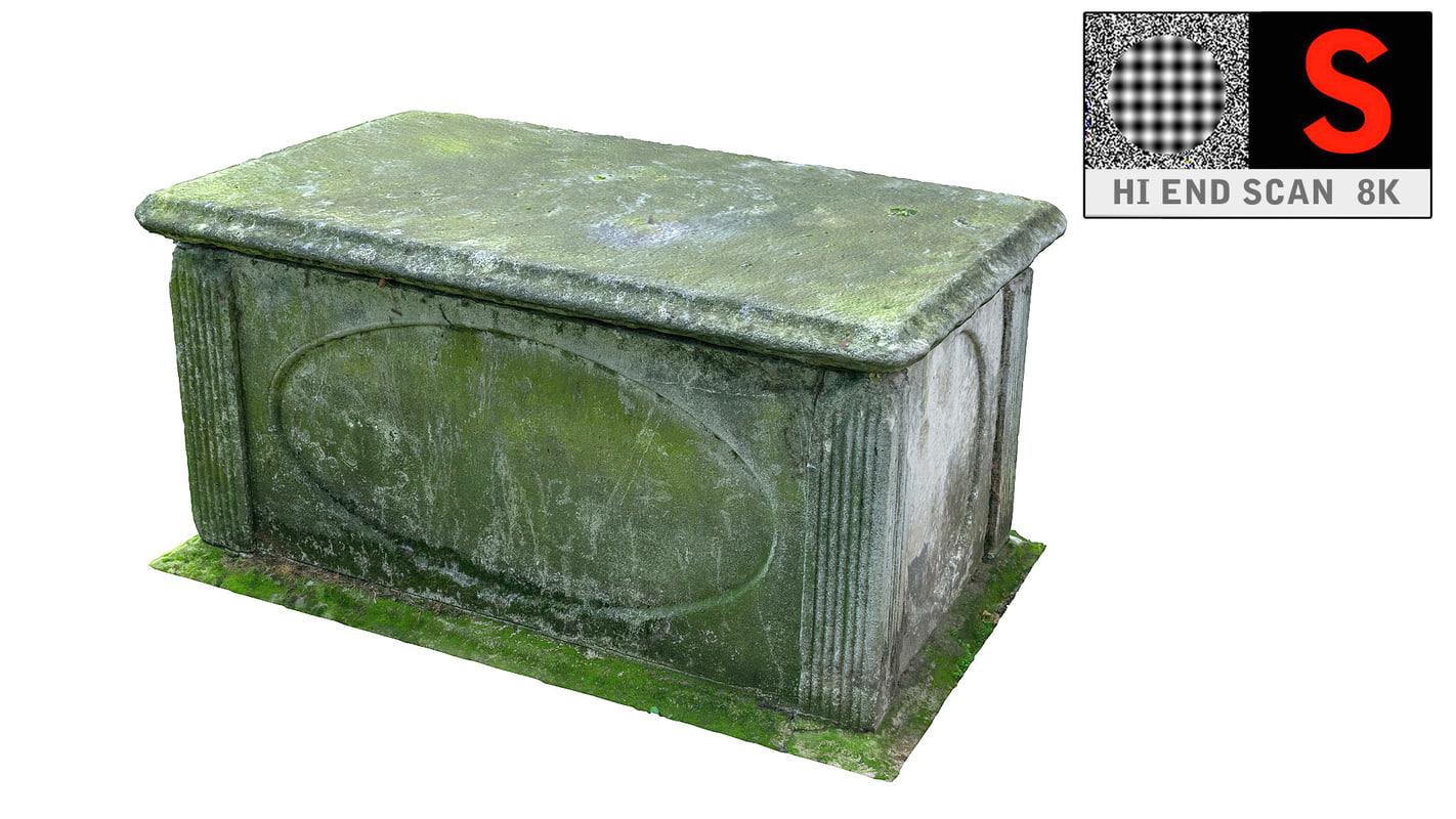 real tomb scan hd 3d model