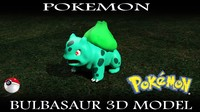 free max model bulbasaur pokemon