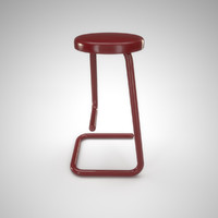 haworth k700 paperclip stool 3d max