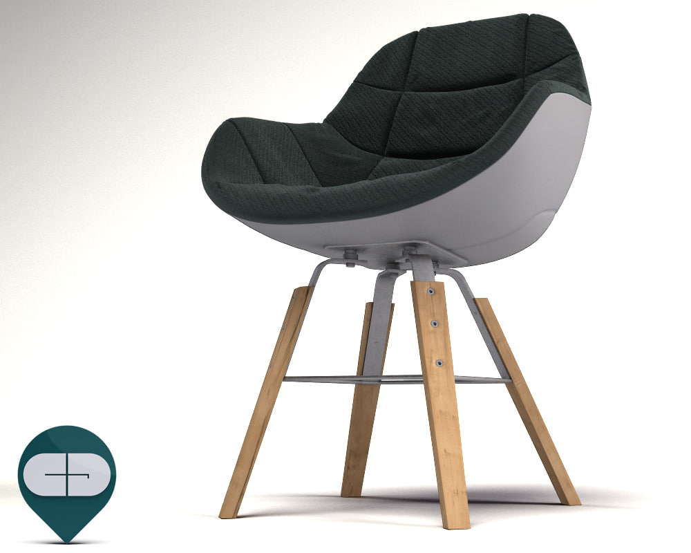 c4d eva 2266r chair