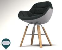 c4d eva 2266r chair
