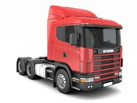 Scania R420 without trailer