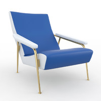D 153.1 armchair  by Gio Ponti