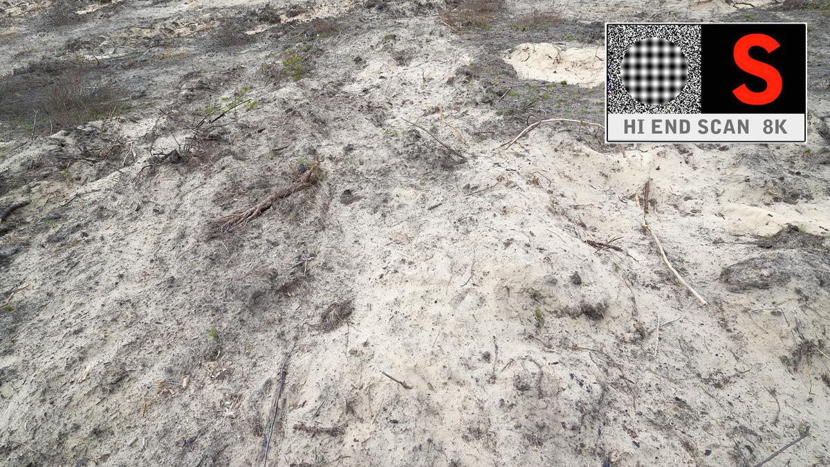 3d model desert area scanned 8k