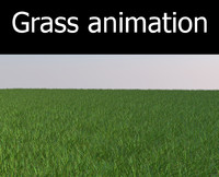 3d max grass animation