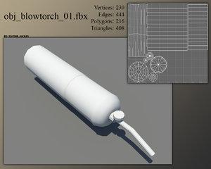 3d model blowtorch games