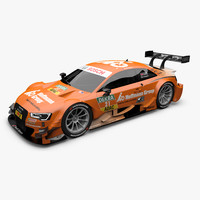 2014 Audi RS5 DTM Green