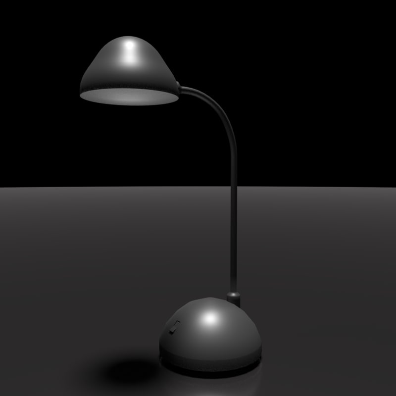 lamp office 3d obj