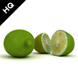 lime 3d max