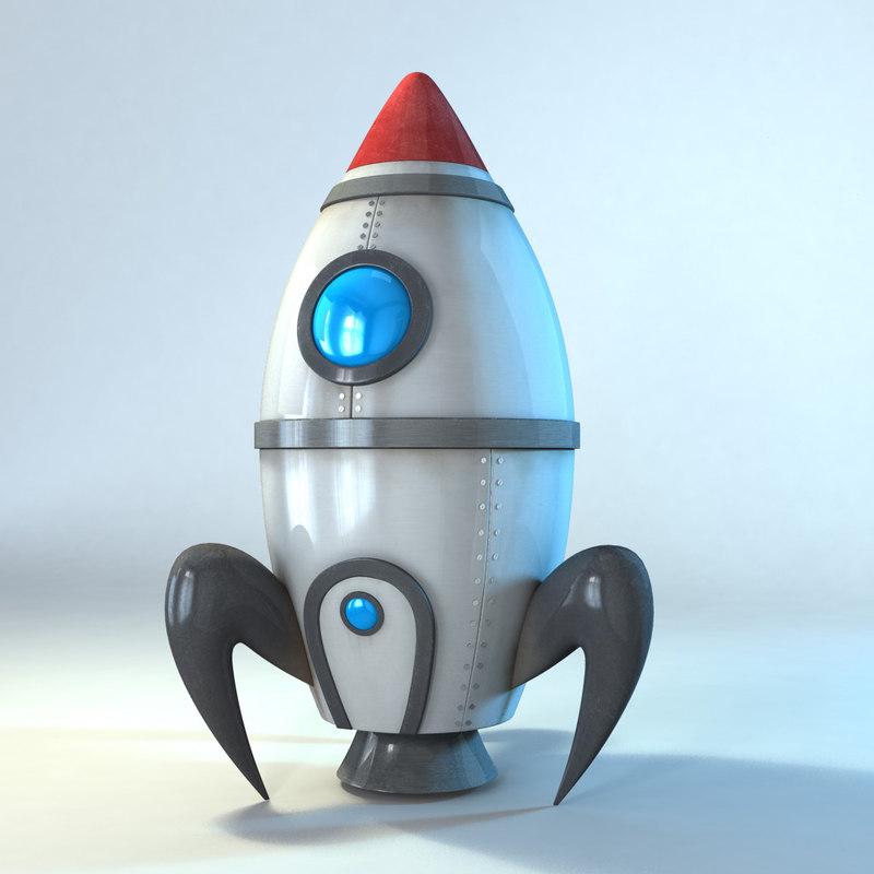 3d model cartoon props