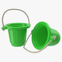 3d toy bucket