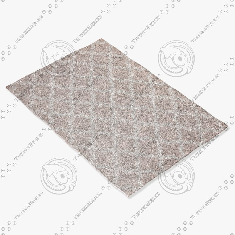 jaipur rugs mr49 3d model