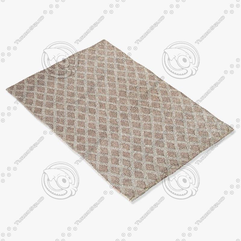 3d model of jaipur rugs non03