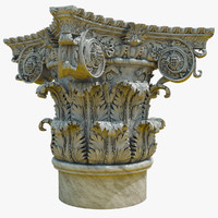 3ds max corinthian capital composite order