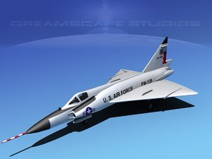 3ds f-102 convair air force