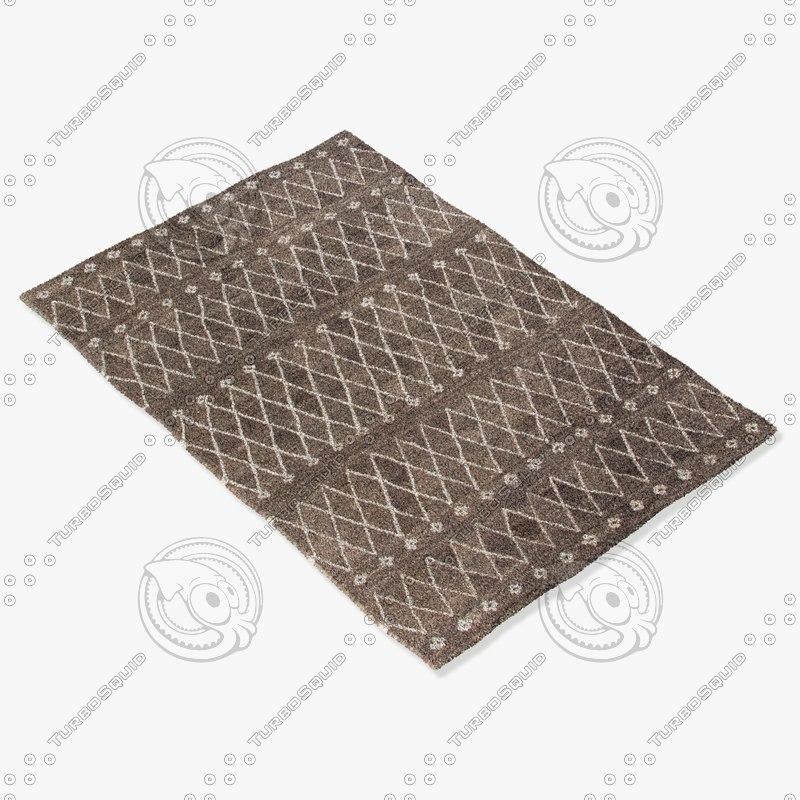 3d jaipur rugs ria06 model
