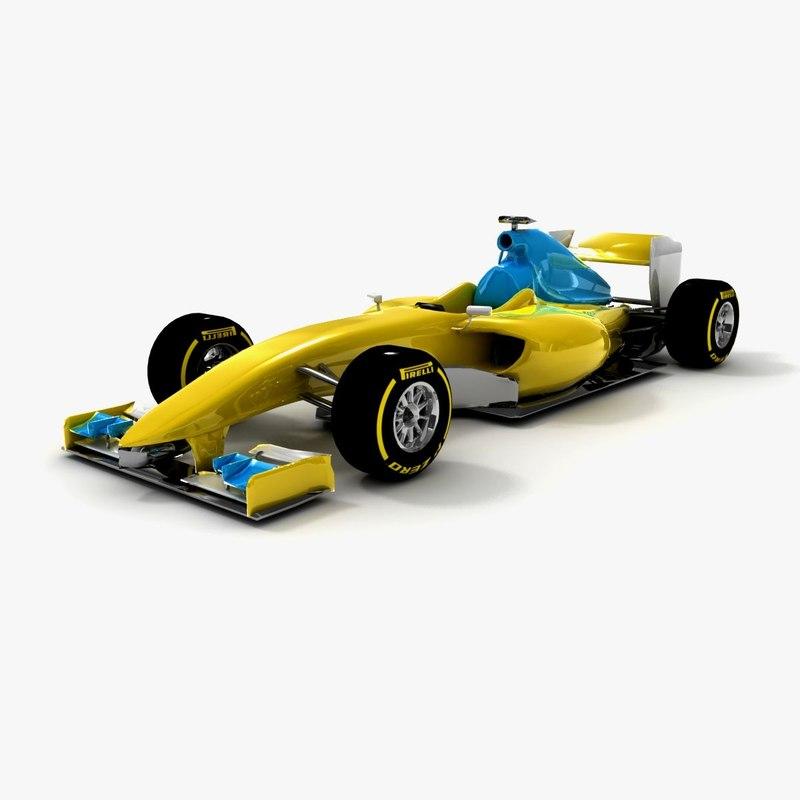 generic formula 1 season 3ds