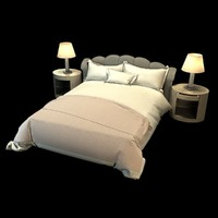 3d model bedroom set