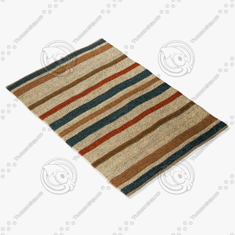 3d model jaipur rugs shs03