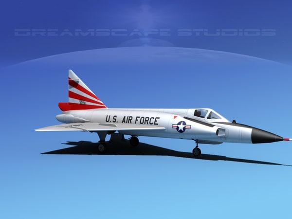 dwg f-102 convair air force