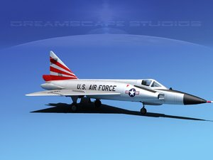dwg f-102 convair air force