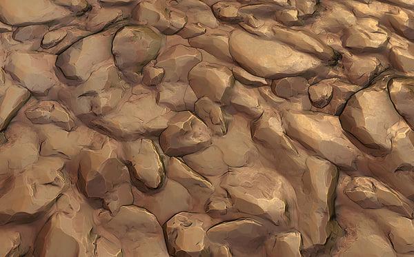 Stone Desert Tile 01