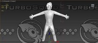 male character great topology 3d model