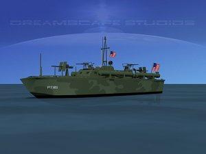 boat pt elco 3d 3ds