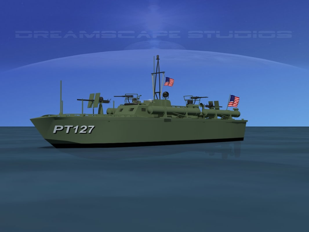 3ds boat pt elco